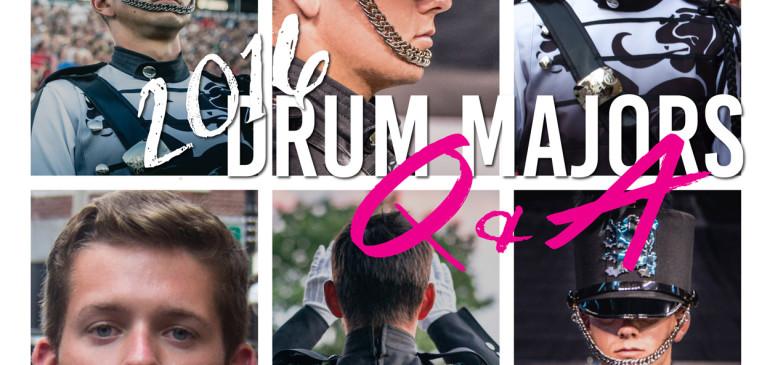 Meet the 2016 Drum Majors