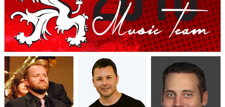 BREAKING NEWS: 2016 Music Team