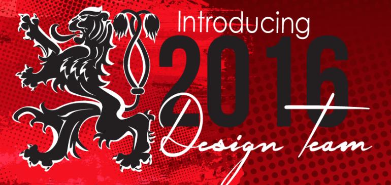 BREAKING NEWS- PROGRAM + VISUAL DESIGNERS FOR THE 2016 PROGRAM