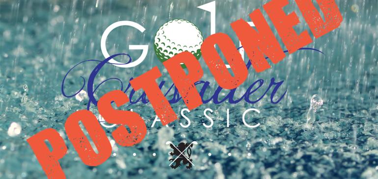 Crusader Classic Postponed until October 9th, 2015