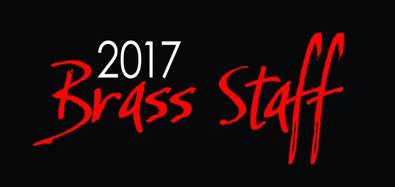 2017 Brass Staff