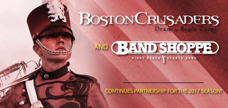 Boston Crusaders Inks New Deal with Band Shoppe
