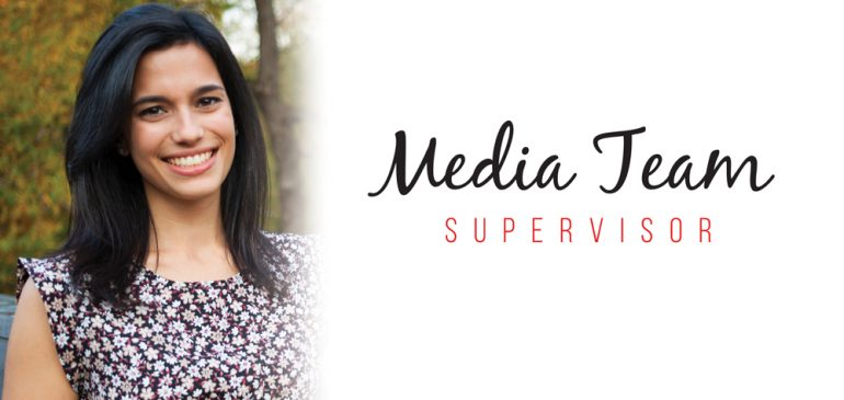 Meet the new Media Team Supervisor