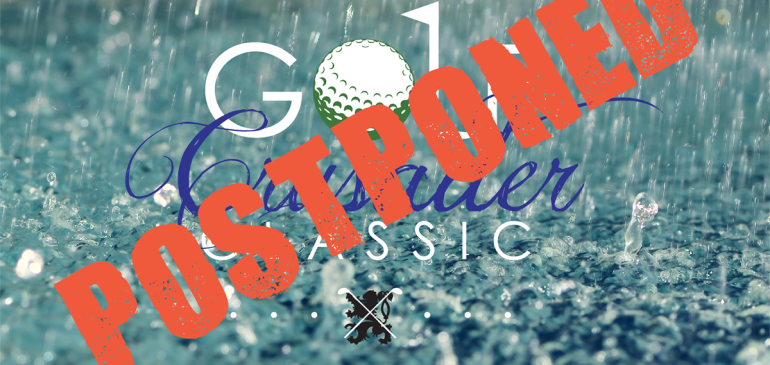 Crusader Classic Postponed until October 9th, 2015