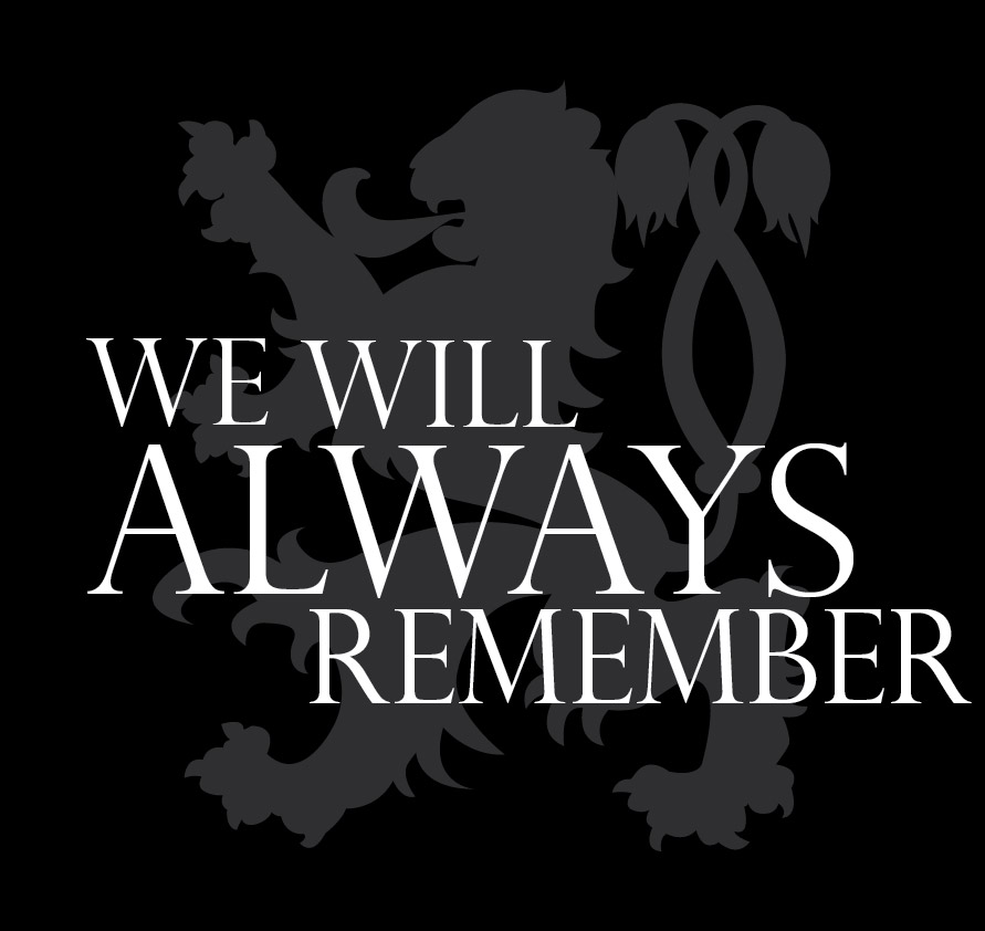 We Will Always Remember