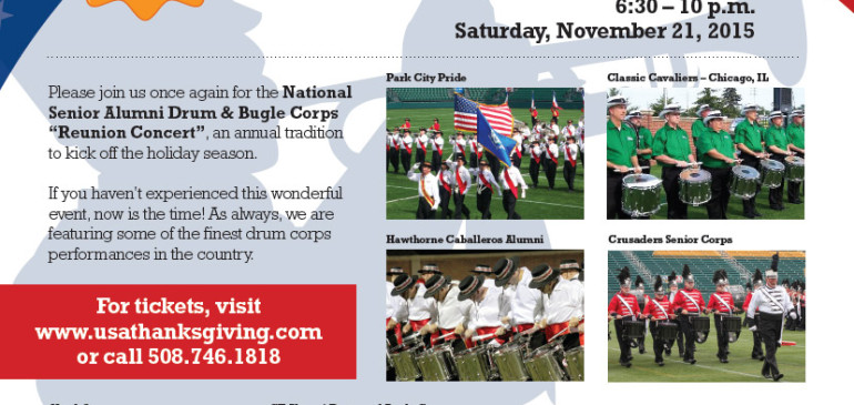 DON'T MISS OUT: NATIONAL SENIOR ALUMNI DRUM & BUGLE CORPS REUNION CONCERT