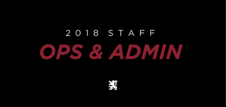 Staff Update: Operations and Administration
