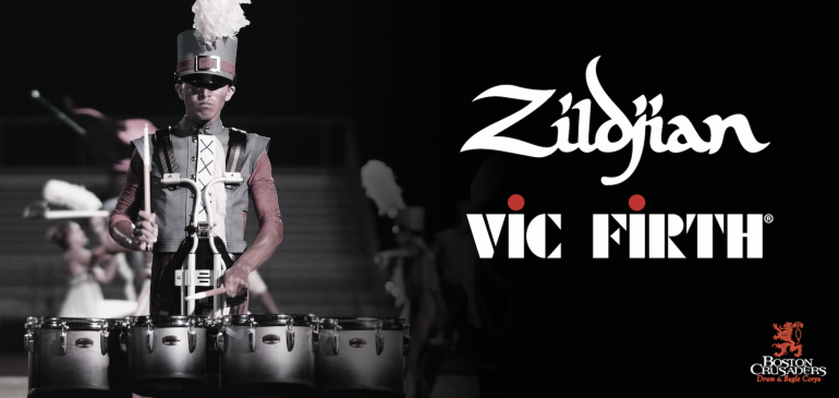 "Boston Crusaders ""Return Home"" to Vic Firth Products"