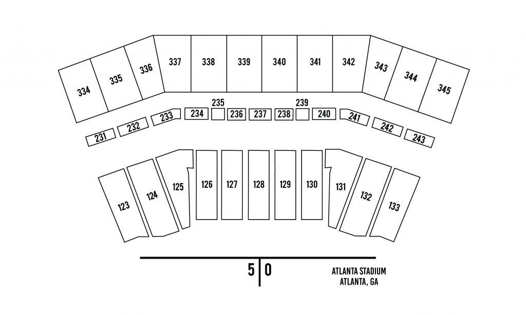 Atlanta Stadium Seating