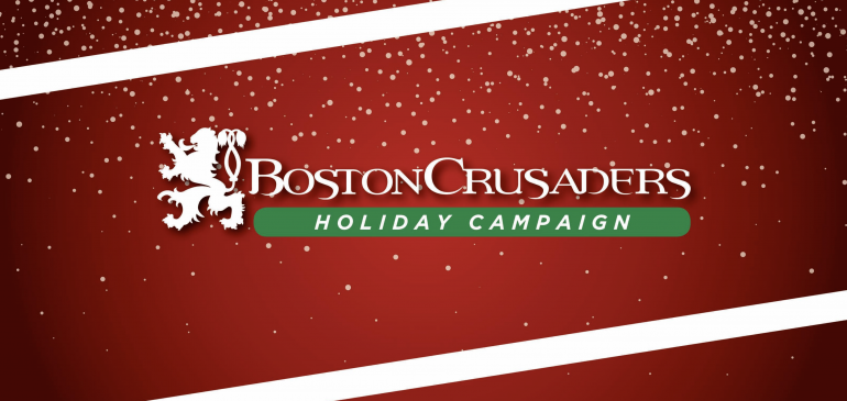 Happy Holidays From The Boston Crusaders!