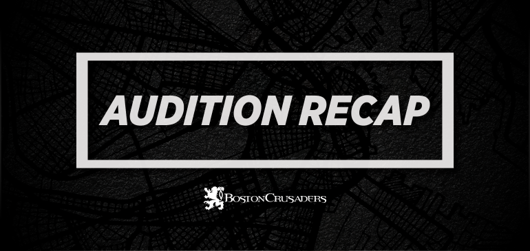 2020 Audition Recap