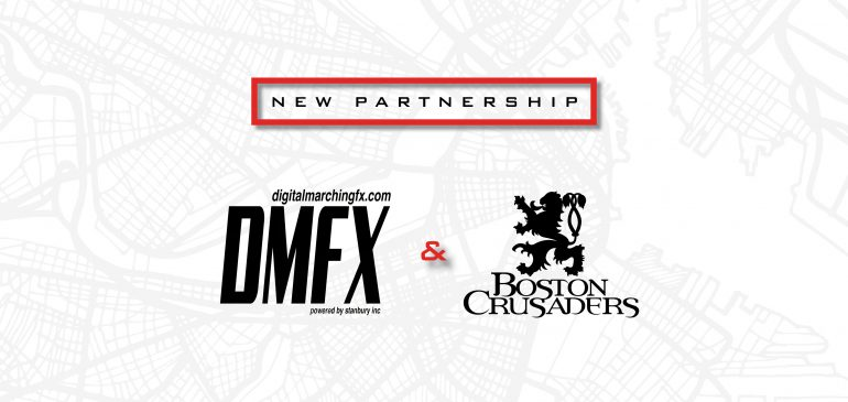 DigitalMarchingFX.com Partners with Boston Crusaders for 2020
