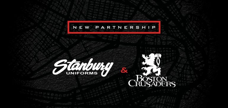 Boston Crusaders, Inspire Guard partner with Stanbury Uniforms