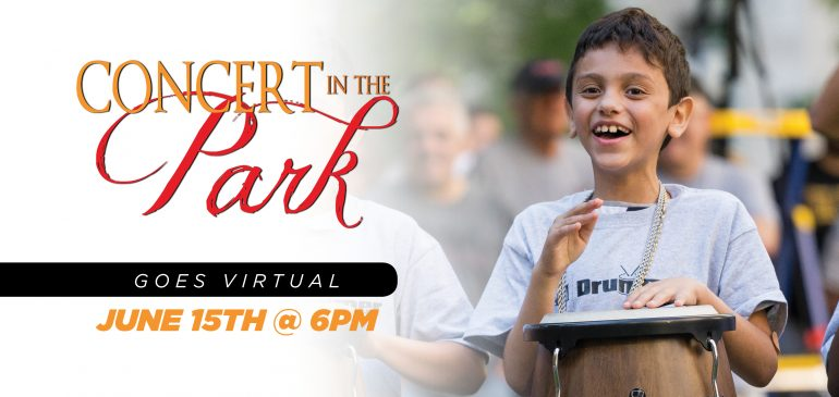 Concert in the Park 2020 Goes Virtual
